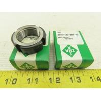 INA ZM25 Precision Lock Nut Lot Of 2
