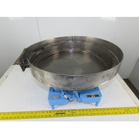 "Syntron EB-142 Magnetic Vibratory Small Parts Feeder 22"" Bowl 115V"