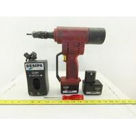 Gesipa Firebird 14.4V Blind Rivet Nut Setter Tool 2 Batteries Charger & Case