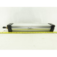 "Parker 2.50CBC4MA3U34AC14.00 2-1/2 Bore 14"" Stroke Double Acting Air Cylinder"