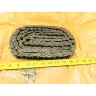 HKK No. 60 Single Strand Riveted Roller Chain 10'
