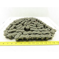 IDC 100-1R No. 100 Single Strand Riveted Roller Chain 10'
