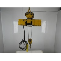 Acco Wright Way 1 Ton 2000Lb 15' Lift 16FPM 1Hp 230/460V Cable Hoist