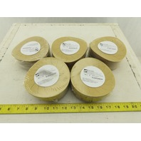 "3M Hookit Paper 210U Disc 5"" Diameter P500 Grit Dust Free Lot of 500"