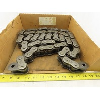 Hi-Max 100H No. 100 Single Strand Riveted Roller Chain 75""