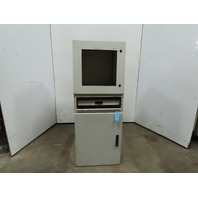"Harsh Environment Steel Security Computer Cabinet 24""x24""x62"""
