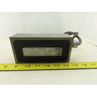 """Powered Electromagnet 110V 37W 3"""" Wide 6"""" Long Electric Magnet"""
