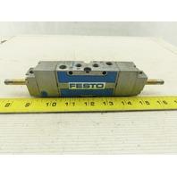 "Festo MFH-5/3-1/8-B 5/3 Way 1/8"" Port Pneumatic Double Solenoid Valve"