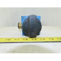 Festo HE-1/2-S-B Manual Hand Stop/Exhaust Valve 1/2NPT W/Muffler