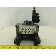 Festo VIMP-MINI-1/8-4-SA Pneumatic Valve Manifold Block