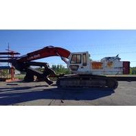 Link Belt LS4300C Excavator w/Pemberton Rotating Hydraulic Scrap Shear