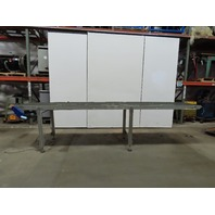 "Broich 164"" Slider Bed 27-1/2"" Belt Conveyor 27-1/2FPM 460V 3Ph"