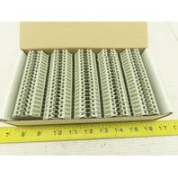 Wieland selos 57.504.0055.0 Gray Terminal Blocks 600V 30/35A 10-22AGW Lot of 100