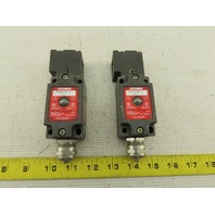 Euchner NZ1VZ-528 Interlock Safety Switch 250VAC Lot Of 2