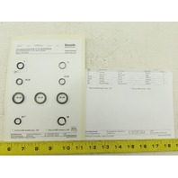Rexroth R900722856 Main Housing Seal Kit DA/DB/DR/DZ 10 -5X