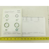 Rexroth R900722859 DA/DB/DR/DZ 20 -5X/V Seal Kit Main Housing