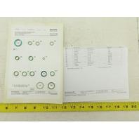 Rexroth R900722853 DAC/DBC/DRC/DZC.-5X/V Seal Kit