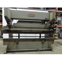 Chicago 8L10 Mechanical Press Brake 46 Ton x 10' W/Back Gauge 460V 3Ph
