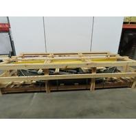 "Hytrol 190-NSPC 90° LH Line Shaft O-Ring Driven Live Roller Conveyor 31"" BF"
