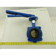"Grinnell LC-8281-3 3"" Resilient Seated Butterfly Valve 4 Bolt Lug"