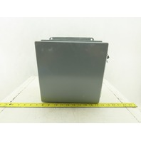 "Hoffman A10106CH 10"" x 10"" x6"" Type 12,13 Electrical Enclosure Junction Box"