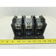 Ettson HP312-3 Power Distribution Block 3 Pole 600V 310A