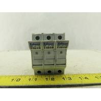 Edison EHM 10x38 Fuse Holder 3Pole 600V 30A