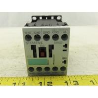 Siemens 3RH1140-1AB00 10A 240V Contactor Relay 24VDC Coil