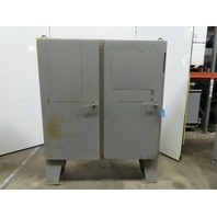 "Hoffman 60x6112LP Freestanding Electrical Enclosure 60""x61""x12"" W/Back Plate"