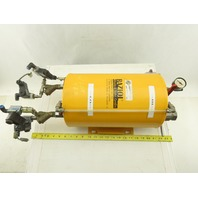 Raziol Lubricator Sprayer Reservoir Tank W/Solenoid Valves