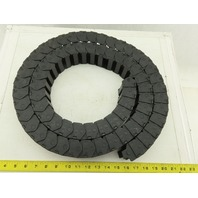 """iges 14.4.125 Cable /Hose Carrier Energy Drag Chain ID 1-1/4""""Hx2""""Wx83""""L"""