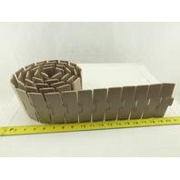"Rexnord LF880K4.5 LF880K4-1/2 Plastic Table Top Conveyor Chain 74"" Length"