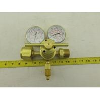 Victor SR4MF Air Oxygen Inert Gas Pressure Welding Regulator 3000 PSIG