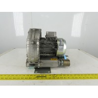 Hapro SCL K04-MS MOR 1.1/1.3Kw 3350RPM 230/460V Regenerative Blower Vacuum Pump