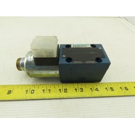 Rexroth 4WE6D60/EG24N K4 Single Solenoid Hydraulic Directional Valve 24VDC Coil