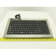 Texas Industrial DT-5K/NI Industrial Key Board AS IS Cord Cut