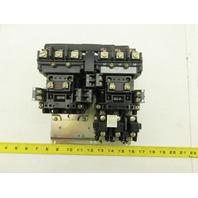 Allen Bradley 505-BOD-23 Ser. C Sz 1 Reversing Motor Starter Contactor 120V Coil