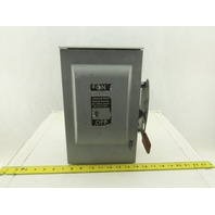 Siemens GNF322R General Duty 60A 240V 3 Pole Rain Proof Disconnect Safety Switch