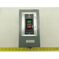 Allen Bradley 609-AAW Size 0 3Ph 600V 10Hp Manual Start Stop Machine Controller