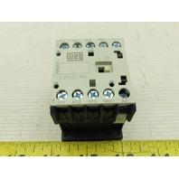 Weg CWC07-10-30V18 3 Pole Miniature Contactor 7A 120 VAC/110 VAC coil voltage