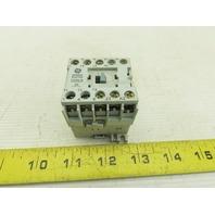 General Electric CR6CB Mini Contactor 3 Pole 220-240V Coil