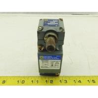 Square D 9007C054 Ser A Limit Switch W/Base & 45° Travel Head