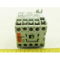 Sprecher + Schuh CA4-09-01 Mini Contactor 3 Pole 24V Coil