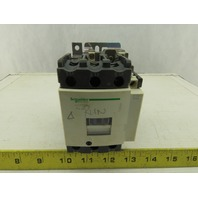SCHNEIDER LC1D65 Contactor 600VAC 50HP 3PH 120V COIL