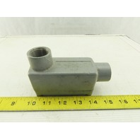 "Killark XLB-2 Explosion Proof LB Conduit outlet Body Aluminum W/Cover 3/4"""