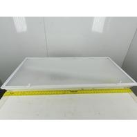"""American Florescent 4 Bulb 24x 48"""" 120V Fluorescent Light White Toffer W/Lens"""