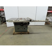 "Delta RT40 36789 14"" To 16"" Table Saw 7.5 Hp 230/460V 3 Phase W/Rip Fence"