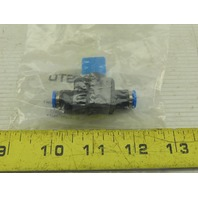 Festo HE-2-QS-6 6mm Inline Flow Control Shut Off Valve