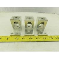 CMC LA-750 Terminal Lug For (1) 7500KCMIL-1/0 or (2) 350KCMIL-1/0 Lot of 3
