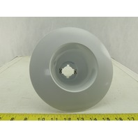 "Lithonia CO1 6"" Finishing Trim Open Shallow Wide Flange White"